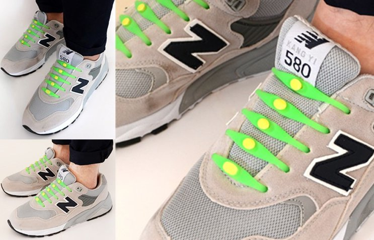 Силиконовеы шнурки