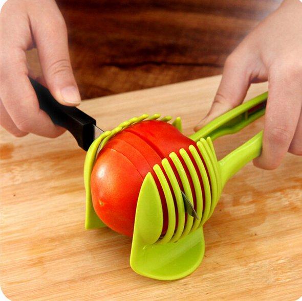 Держатель для нарезания овощей и фруктов