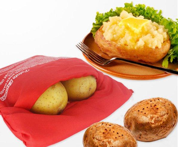 Мешочек для быстрого запекания картофеля в микроволновке